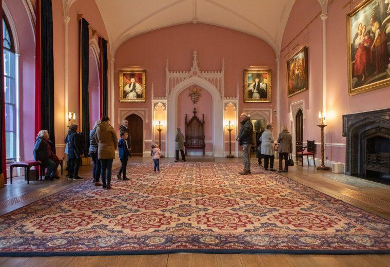 Auckland Castle Throne Room