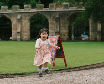 Little Girl at Auckland Castle