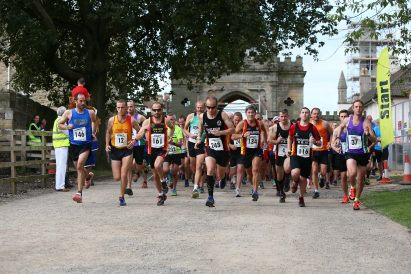 Trail Runners at Auckland Castle