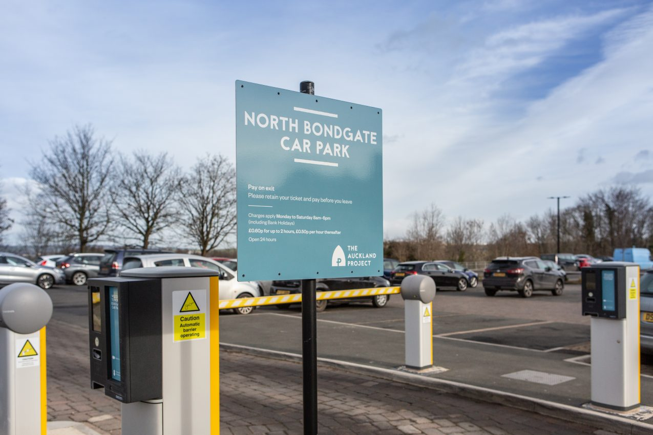 North Bondgate car park Bishop Auckland