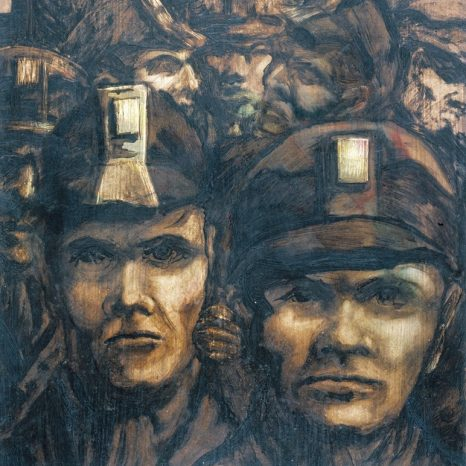 Miners' Heads, Ted Holloway (1958)